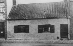 Photo of the original church, a small residential house in Hornsea.