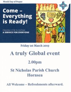 A Global Event – in Hornsea